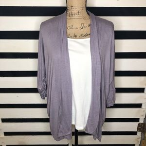 Mossimo Purple Shrug Sweater